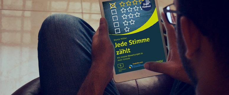 "eBook ""Jede Stimme zählt"" Martin Müller"