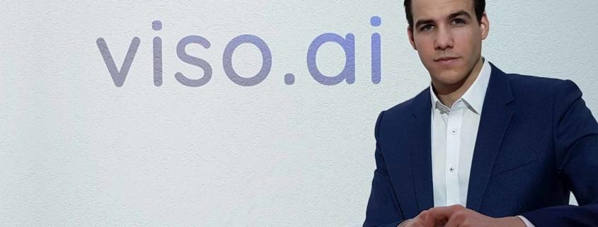 Gaudenz Bösch hat zusammen mit Nico Klingler die Firma viso.ai gegründet und ist heute schon Marktführer mit seiner Technologie.