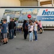 """Rund 2000 Besucher beim """"Tag der offenen Tür"""" bei Hentschke Bau"""