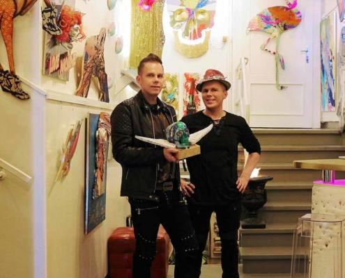 """Medienarchiv Das Kölner Künstlerduo Iven Orx und Aaron Vinn wurde als neues Mitglied in die Expertengemeinschaft """"Best99 Premium Experts"""" aufgenommen."""
